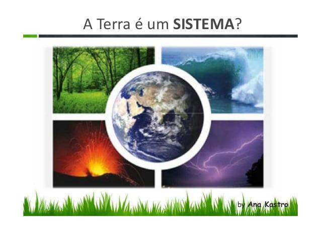 A Terra como um sistema