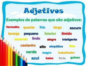 Ficha Informativa – Classes de Palavras – Os Adjectivos (1)