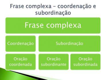 Ficha de Trabalho – Frase complexa (4) – Soluções