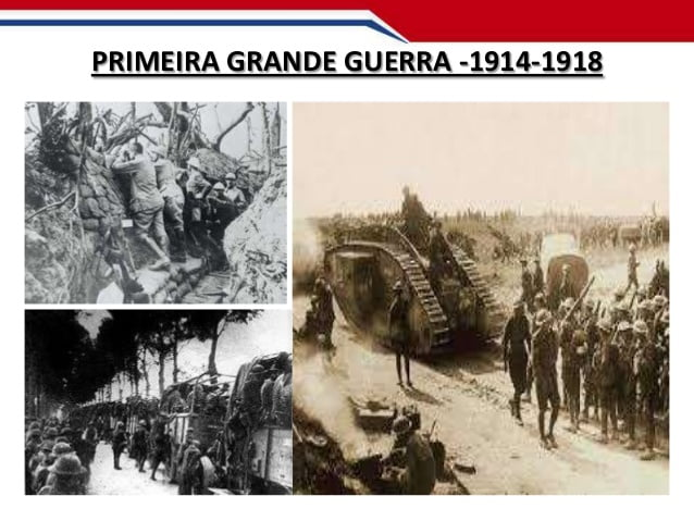 A 1ª Grande guerra