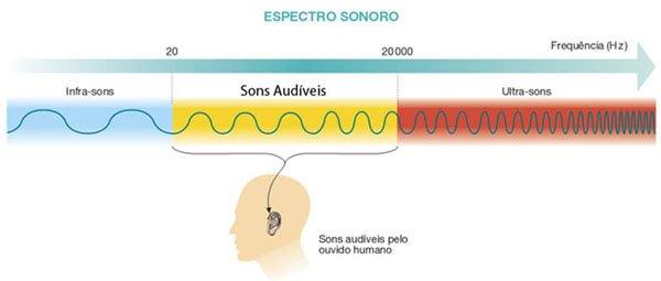 Deteção do som e espetro sonoro