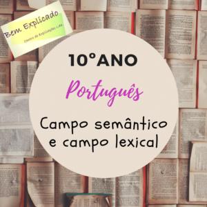 Campo semântico e campo lexical