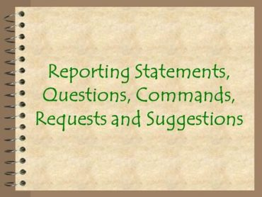 Ficha de Trabalho –  Questions, commands, requests and suggestions (3)