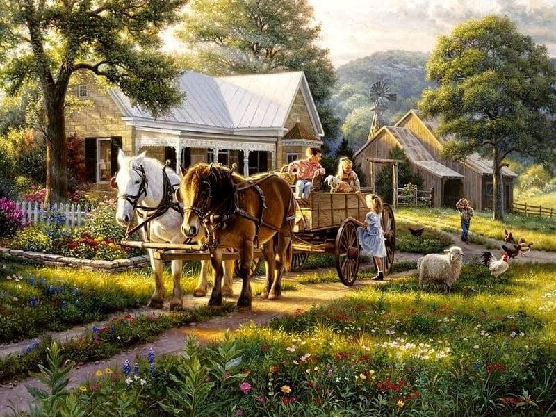 A vida no campo