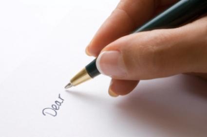 Escrever uma carta