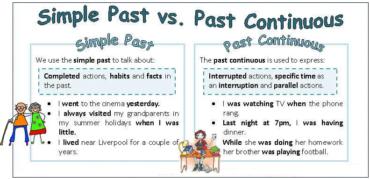 Ficha de Trabalho– Past simple or Past Continuous (3)