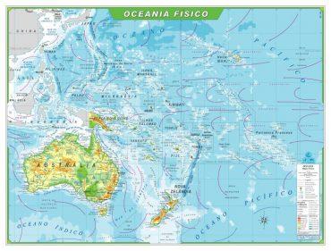 Ficha de Trabalho – A Oceânia (1) – Soluções