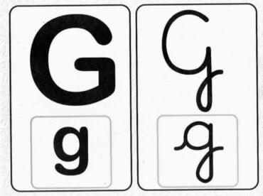 Ficha de Trabalho – Grafema g – G (1)